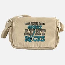 Great Aunt Rocks Messenger Bag