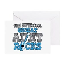 Great Aunt Rocks Greeting Card