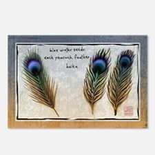 Peacock Seeds Postcards (Package of 8)