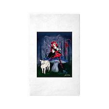 Knitting Bo Peep Fairy 3'x5' Area Rug