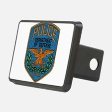 DOD Police patch Hitch Cover