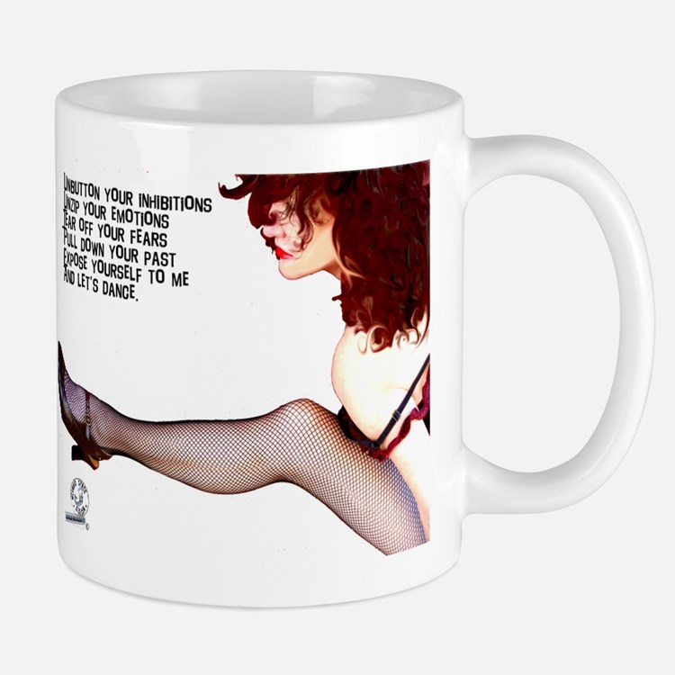 Unbutton Your Inhibitions Mug