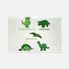 5dinos_www Magnets