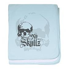 No skulls baby blanket