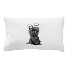 Easter Affenpinscher Pillow Case