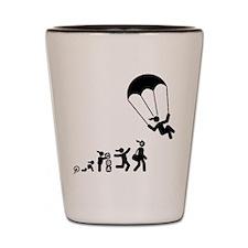 Parachuting Shot Glass