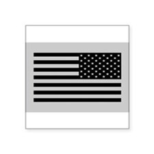 Subdued Reverse US Flag Tactical Sticker
