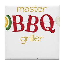 Master BBQ Griller Tile Coaster
