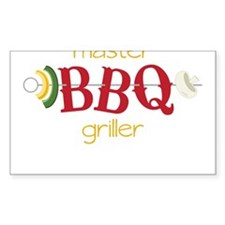Master BBQ Griller Decal