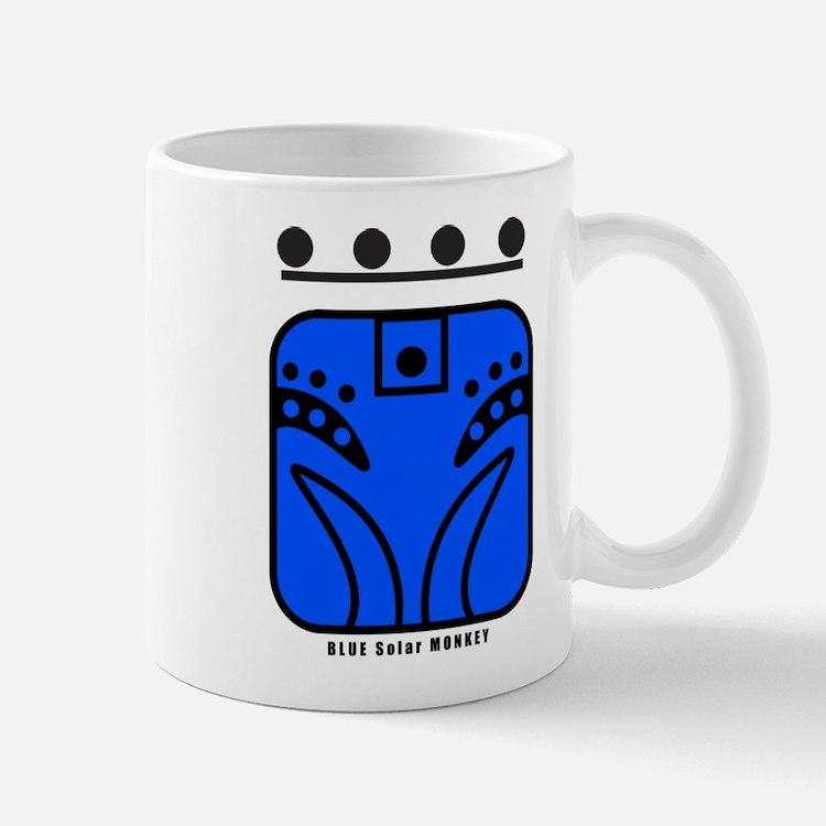 BLUE Solar MONKEY Mug