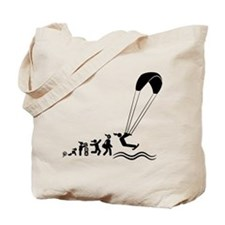 Kiteboarding Tote Bag