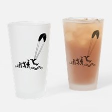 Kiteboarding Drinking Glass