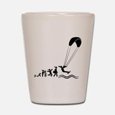 Kiteboarding Shot Glass