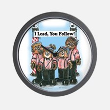 Lead Section Wall Clock