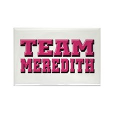 Grey's Anatomy Team Meredith Rectangle Magnet