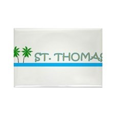 Funny St. thomas Rectangle Magnet