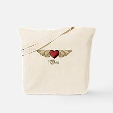 Delia the Angel Tote Bag