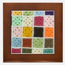 Granny Square Framed Tile