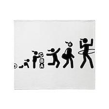 Hula Hoop Throw Blanket