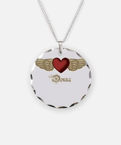 Donna the Angel Necklace