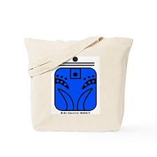 BLUE Spectral MONKEY Tote Bag