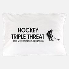 TOP Ice Hockey Slogan Pillow Case
