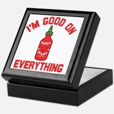 Funny Sriracha Keepsake Box
