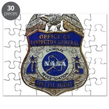 NASA OIG CI SA badge Puzzle
