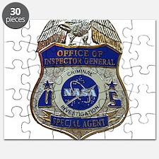 NASA OIG CI SA badge Puzzle