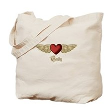 Emily the Angel Tote Bag