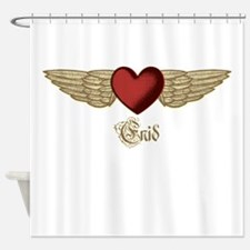 Enid the Angel Shower Curtain