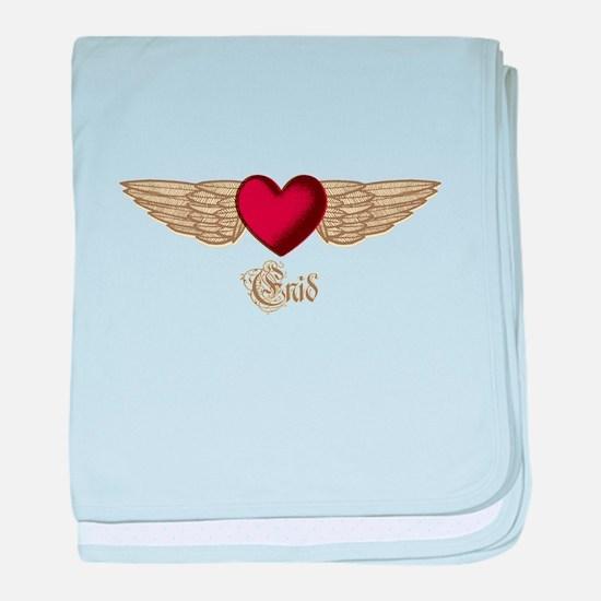 Enid the Angel baby blanket