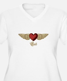 Enid the Angel Plus Size T-Shirt