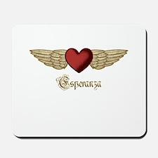 Esperanza the Angel Mousepad