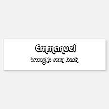 Sexy: Emmanuel Bumper Bumper Bumper Sticker
