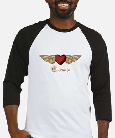 Esperanza the Angel Baseball Jersey