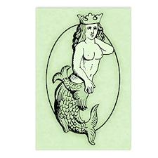 Mermaid Princess Postcards (Package of 8)