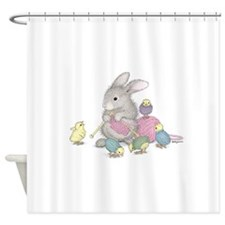 Will knit for friends. Shower Curtain