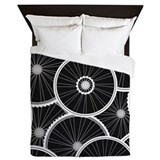 Bicycle Luxe Full/Queen Duvet Cover