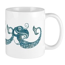 Worn Mermaid Graphic Mug