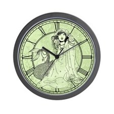 Mermaid In Shawl Wall Clock