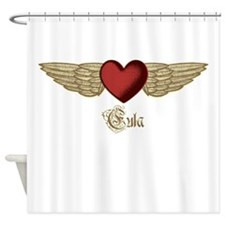 Eula the Angel Shower Curtain