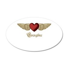 Evangeline the Angel Wall Decal