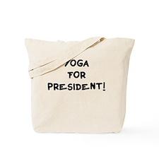 Vote for Yoga Tote Bag