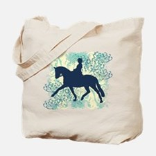 Dressage Horse And Rider Tote Bag