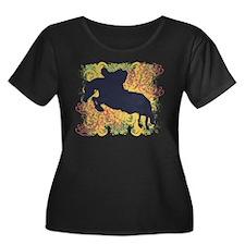 Hunter Jumper Plus Size T-Shirt