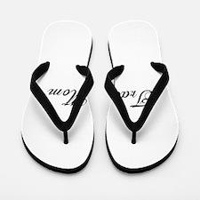 Track Mom - Team Mom Flip Flops