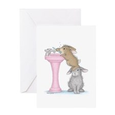 Bunny Lift Greeting Card