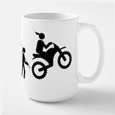 Dirt Bike Large Mug