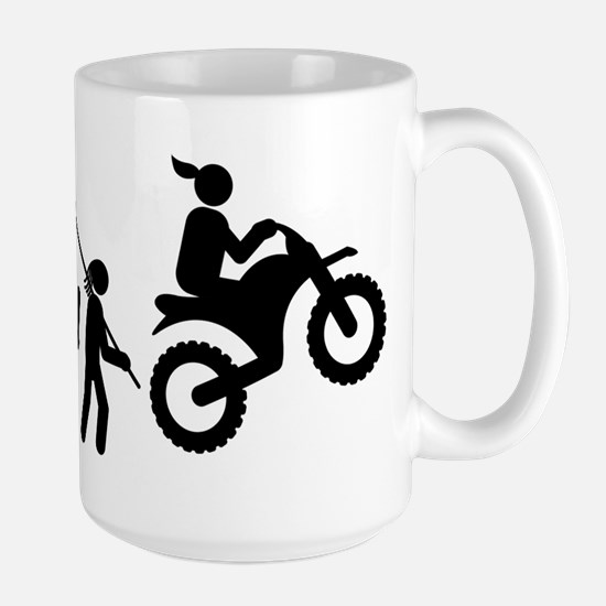 Dirt Bike Large Mug